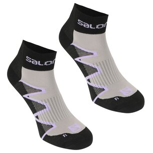 XA Pro 2 Pack Ladies Running Socks