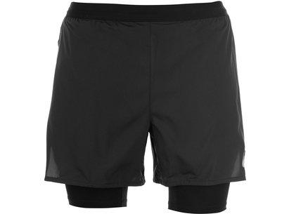 2in1 5 Inch Flex Running Shorts Mens