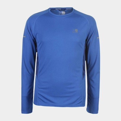 Long Sleeved Running T Shirt Mens