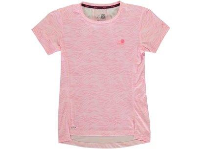 X Lite Race Short Sleeve T Shirt Junior Girls