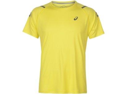 Icon Short Sleeve T-Shirt Mens Yellow