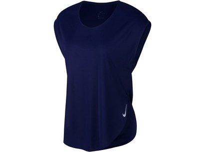 City Sleek Short Sleeve Running Top Ladies