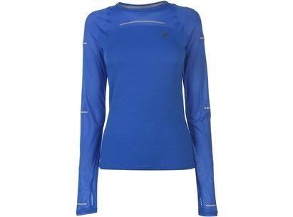 Asics Lite Show Long Sleeve T Shirt Ladies