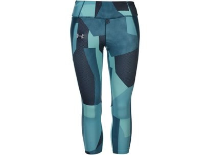 Under Armour Stride AOP Capri Leggings Ladies