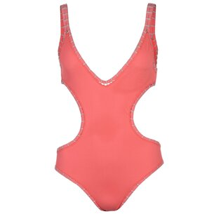 USA Pro CutOut Swim Suit Ladies