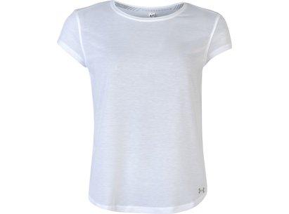 Under Armour Threadborne Run Mesh T-Shirt Ladies