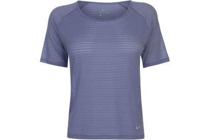 Nike Miler Breathe Short Sleeve Top Ladies