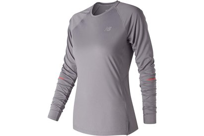 New Balance Ice Long Sleeve Tee Ladies
