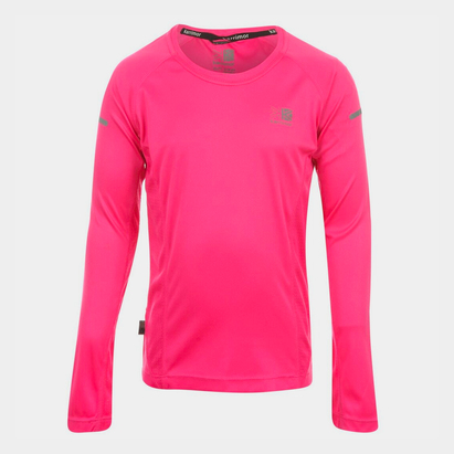 Karrimor Long Sleeved Running Top Girls