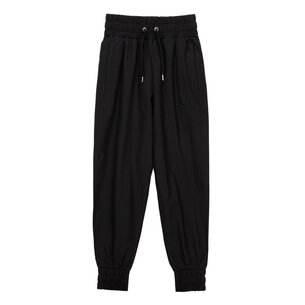 Closed Hem Woven Pants Girls