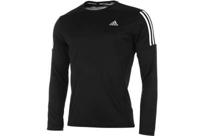 adidas Questar Long Sleeve Running Top Mens