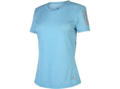 adidas Short Sleeve Mesh T Shirt Ladies