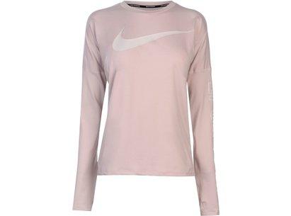 Nike Gem Element Long Sleeve Top Ladies