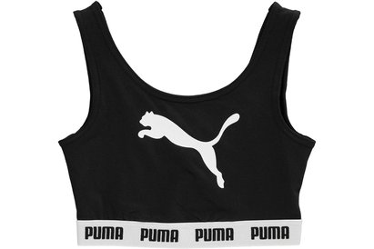 Puma Tape Crop Top Junior Girls