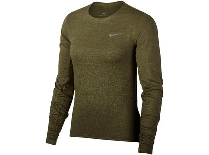 Nike Medalist Long Sleeve Running Top Ladies