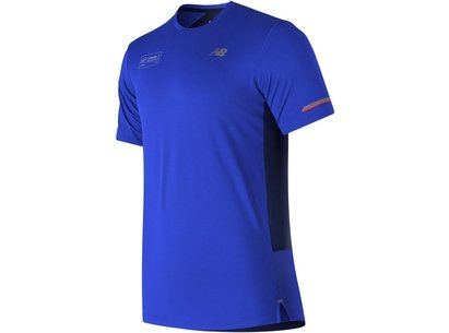 New Balance Ice Running Tee Mens
