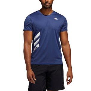 adidas Run It T Shirt Mens