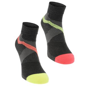 Karrimor Support Quarter Length Socks 2 Pack Mens