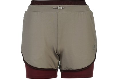 Karrimor Urban 2in1 Running Shorts Ladies