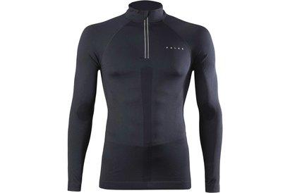 Falke Long Sleeve Zip Shirt Mens