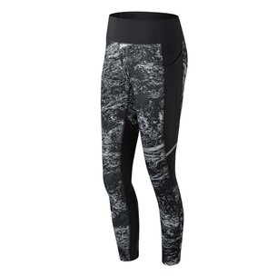 Printed Impact Running Tights Ladies