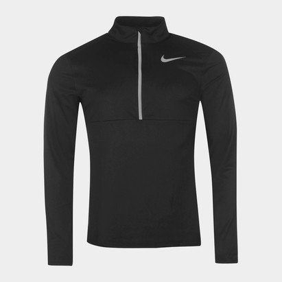 Nike Half Zip Core Long Sleeve Running Top Mens