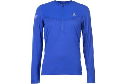 Salomon Fast Wing Zip Top Mens
