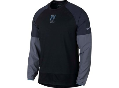 Nike Element MX Long Sleeve Running Top Mens