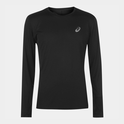 Asics Core Long Sleeve Running T Shirt Mens