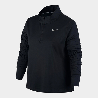 Nike Dri Fit Element Half Zip Top Ladies