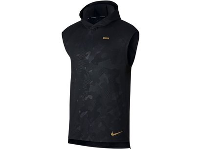 Nike Element Sleeveless Running Hoodie Mens