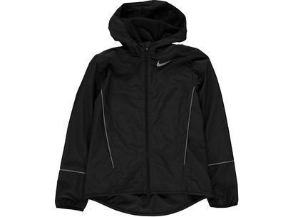 Nike Hooded Running Jacket Junior Girls