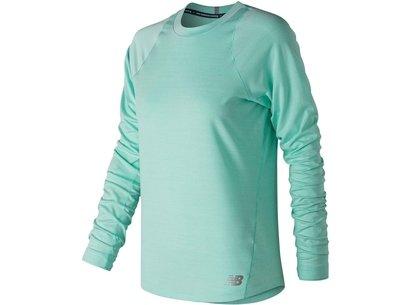 New Balance Seasonless Long Sleeve T Shirt Ladies