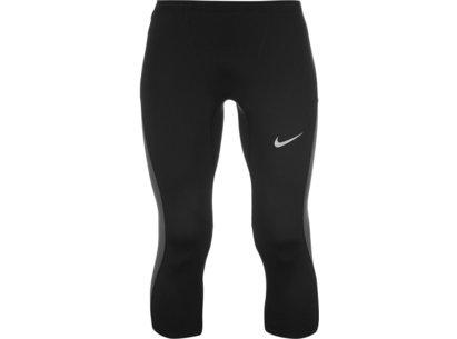 Nike Trail Three Quarter Running Tights Mens