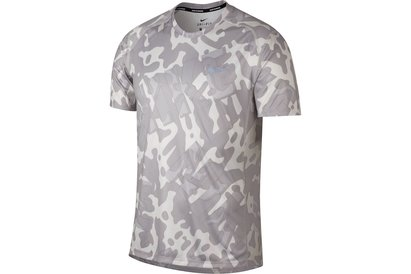 0fe4aaa0c05 Nike Miler Short Sleeve Running Top Mens