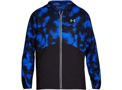 Under Armour Run Printed True Windbreaker Jacket Mens