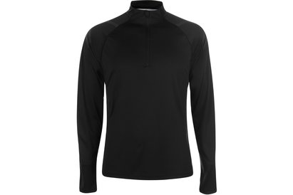 Asics Icon Long Sleeve Zip Top Mens