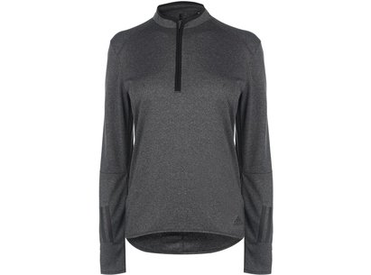 adidas Response Long Sleeve Zip Top Ladies