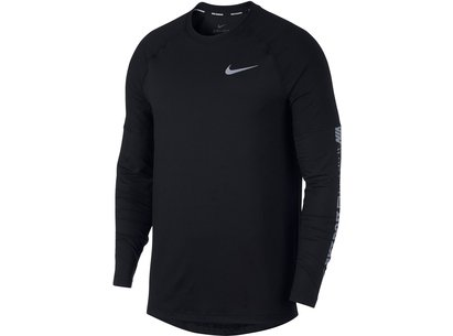 Nike Element Long Sleeve Running T Shirt Mens