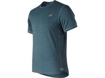 New Balance Seasonless Short Sleeve T Shirt Mens