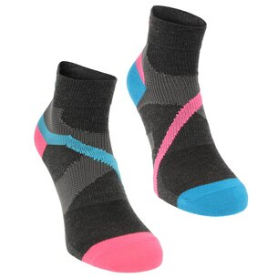 Karrimor Support Quarter Socks 2 Pack Ladies