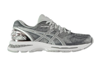 Asics Nimbus 20 Platinum Ladies Running Shoes