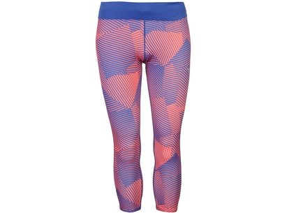 Mizuno Phenix Three Quarter Running Tights Ladies