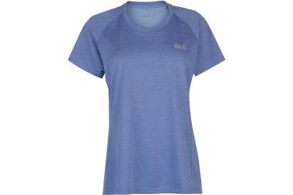 Jack Wolfskin Hydropore T Shirt Ladies