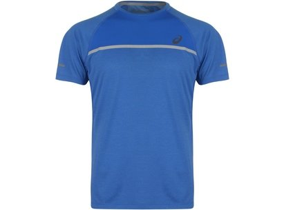 Asics Short Sleeve Running T Shirt Mens