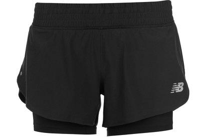 New Balance Impact Shorts Ladies