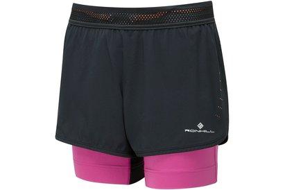 Ron Hill Infinity Marathon Twin Shorts Ladies