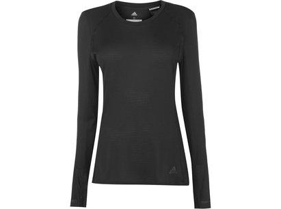 adidas Snova Long Sleeve T Shirt Ladies
