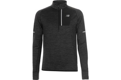New Balance Heat Half Zip Top Mens