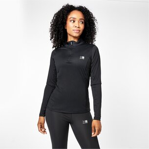 Karrimor Quarter Zip Long Sleeve Top Ladies